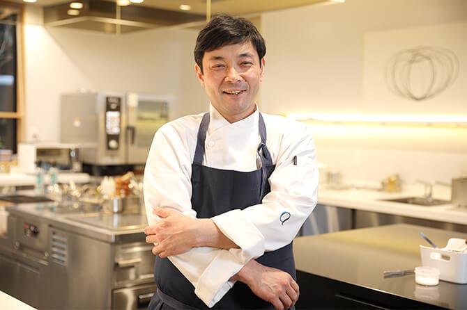 農林水産省による料理人顕彰制度「料理マスターズ」のブロンズ賞にも選ばれている川島シェフ