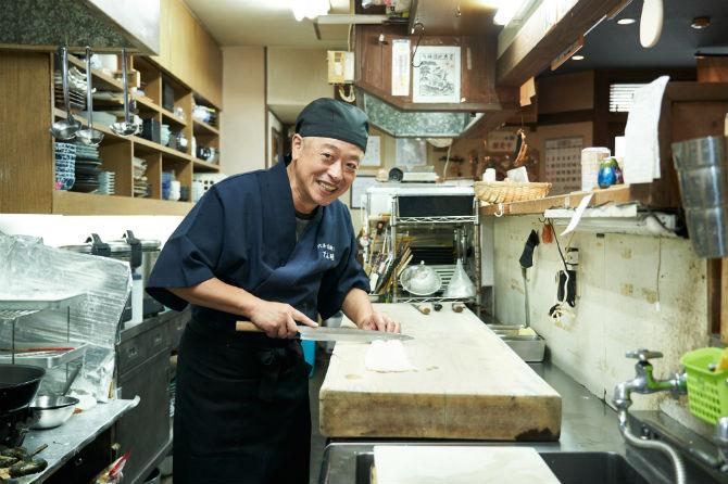 ご主人の西岡さん。毎年、淡路市・岩屋で行われる石屋神社秋祭りだんじり巡行に参加している。